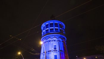 Architectural lighting Fire Tower