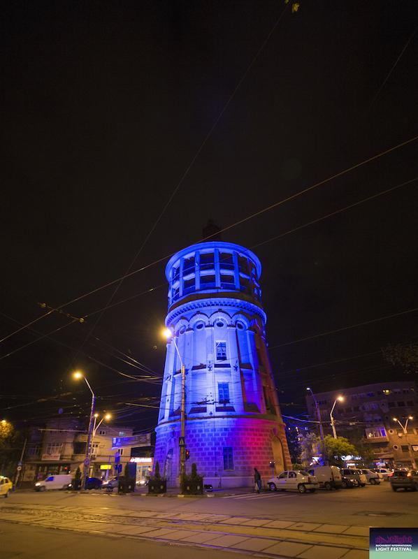 Iluminat arhitectural Foișorul de Foc