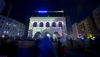 Video mapping Novotel (RO)