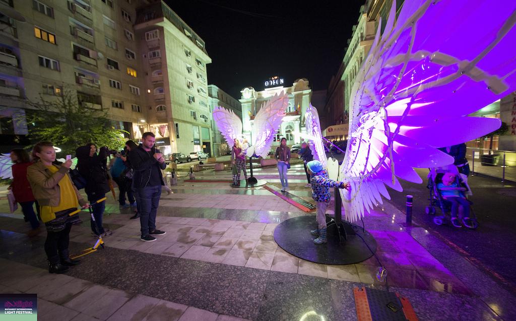 Festivalul Internațional al Luminii prezintă Angels of Freedom (ISR)