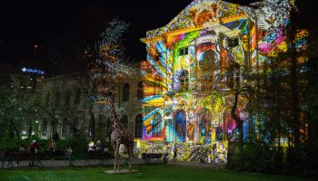 Artistic Projection @ Grigore Antipa Museum