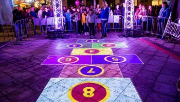 INTERACTIVE hopscotch