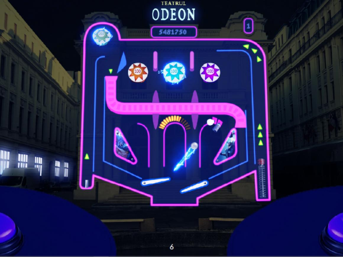 9 Urban pinball